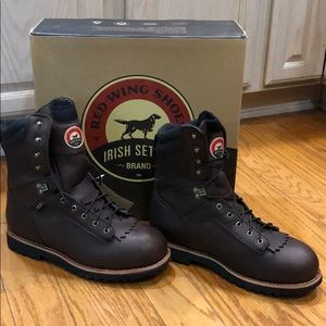 """NWT Red Wing Shoes 9"""" lace up work boots"""